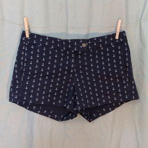 J. Crew Navy ⚓ Nautical Shorts